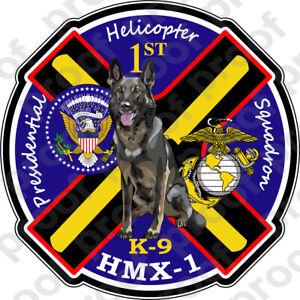 STICKER USMC UNIT HMX 1 Presidential Helicopter Squadron B