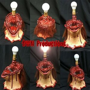 Image Is Loading Horror Movie Prop Lamp Ed Gein Leatherface Inspired