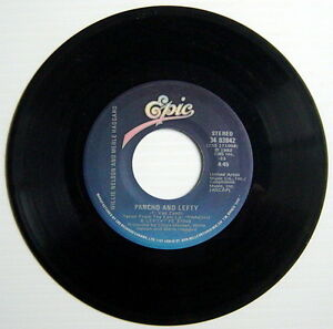 ONE-1982-039-S-45-R-P-M-RECORD-WILLIE-NELSON-amp-MERLE-HAGGARD-OPPORTUNITY-TO-CRY