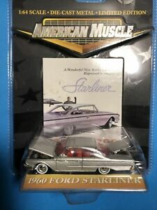 1:64 Ertl American Muscle 1960 Ford Starliner silver