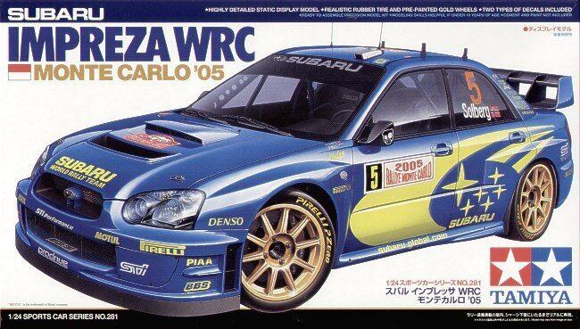 Tamiya 1 24 Subaru Impreza WRC WRC WRC Monte Carlo 05  24281 02f82d
