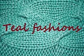 teal fashions