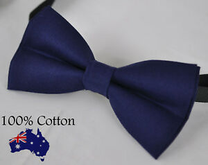Men Women 100/% Cotton Matte Baby AQUA BLUE Craft Bow Tie Bowtie Wedding Party