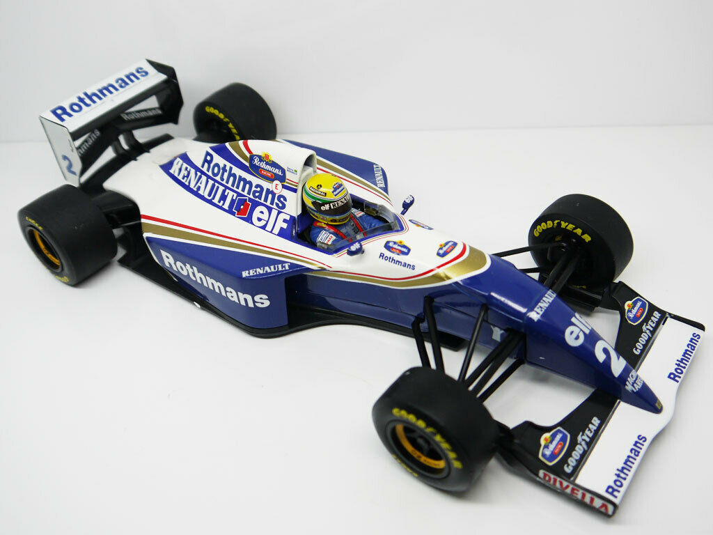 1 18 Minichamps 1994 F1 Williams FW16 Ayrton Senna Mclaren Diecast Model Car