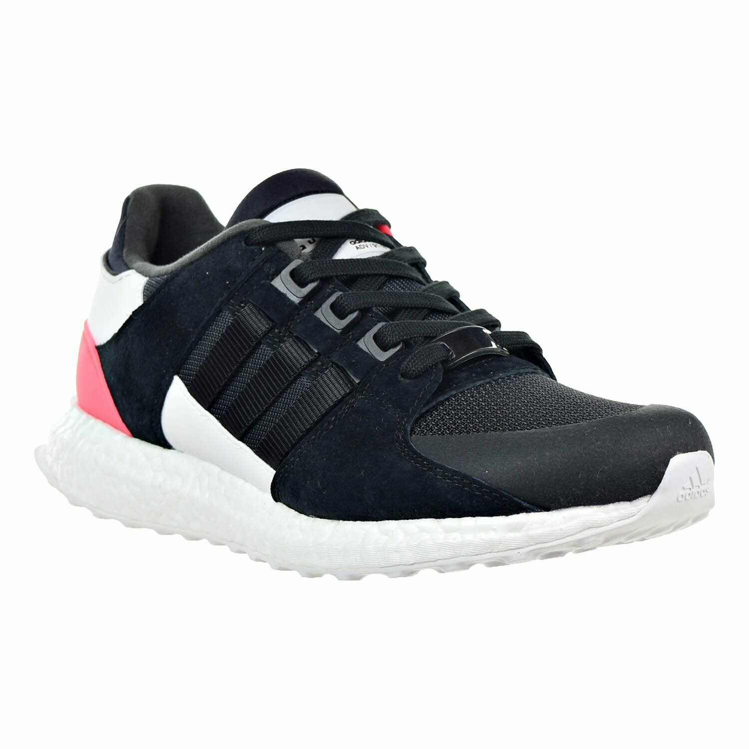 ADIDAS MENS EQUIPMENT SUPPORT ULTRA SNEAKERS BB1237 CORE BLK TURBO RED 7.5