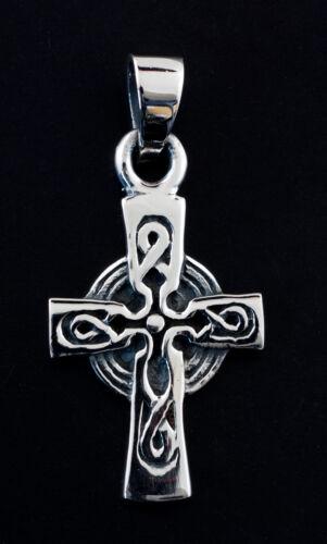 Anhänger Keltisches Kreuz Irisch St Patrick nehmen 925 3.6g-W18 10021