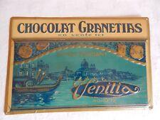 plaque en tôle - Chocolat Granetias - Stéphana