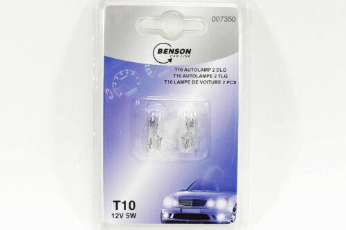 WOW  6x Autolampen  Set Glassockellampen Lampen  T 10 Lämpchen