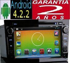 OPEL ANDROID PURO INTERNET WIFI 3G GPS CORSA VECTRA ASTRA ZAFIRA 2DIN AUTORADIO