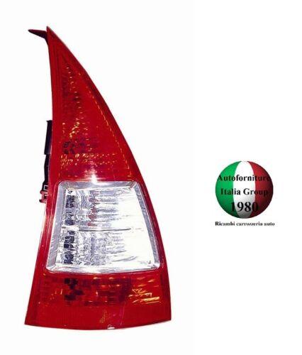 FANALE FANALINO STOP POSTERIORE POST DX BIANCO CITROEN C3 05/>09 2005/>2009