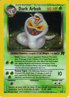 POKEMON TEAM ROCKET EXPANSION RARE FOIL CARD 2/82 DARK ARBOK, 4/10