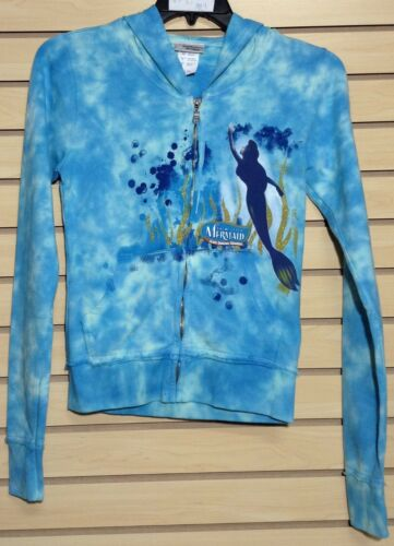 "/""TheLittleMermaid/"" 100/% Cotton Kid/'s Jacket w//Zipper and  Hoodie"