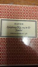 Haydn: Symphony 104: London: Music Score (M10G07)