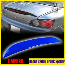 In Stock LA!Painted #B66P Monte Carlo Blue For Honda S2000 OE-Type Trunk Spoiler