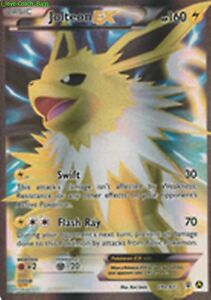 Jolteon EX 28a/83 Generations (Alternate FULL ART) Pokemon ...