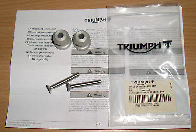 Abba Pro Paddock Stand Fitting Kit For Triumph 2007 Daytona 675