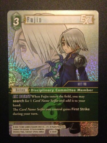 Pack Fresh Final Fantasy TCG Common and Rare Foil Singles Opus 6