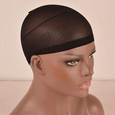 10pcs/Kit Black Wig Caps Hair Net Wig Liner Cap Snood Nylon Mesh Women Men Tool