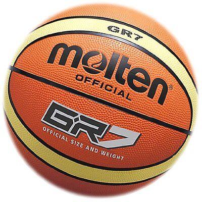 Molten Unisexs Training Basketball Ball Gr 7 Orange
