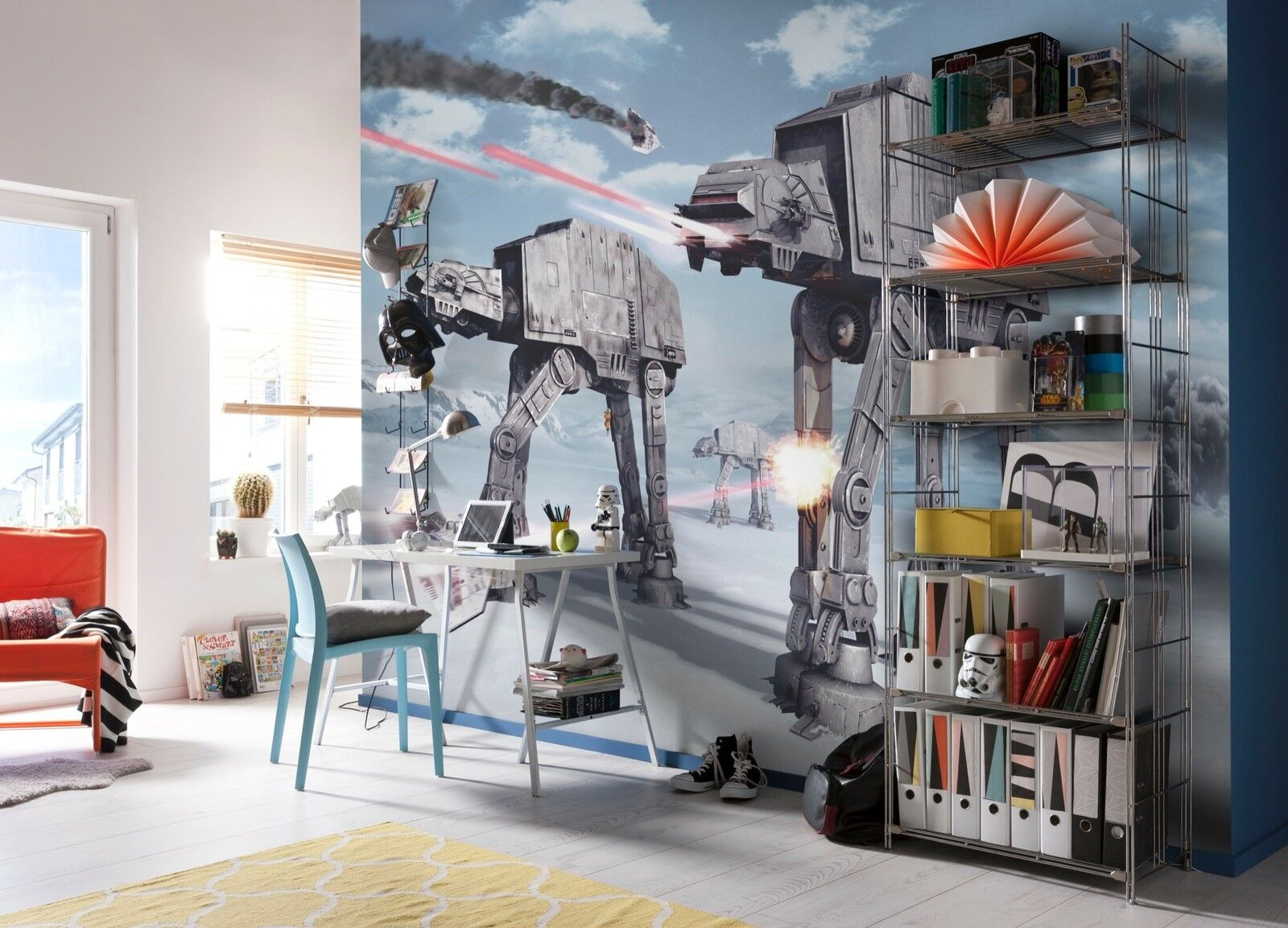 Giant wallpaper 368x254cm Star Wars for kids boys teenagers bedroom wall mural