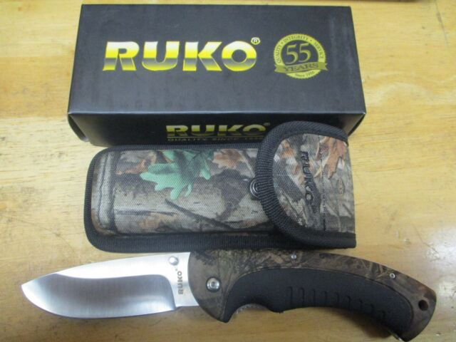 Ruko Great White 3 25 Folding Blade Knife Wx 3d Camo Ruk0144sca For Sale Online Ebay
