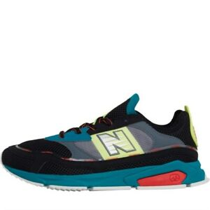 New-Balance-Hommes-X-Racer-Baskets-a-Lacets-Pour-Ultimate-Confort-Multicolore