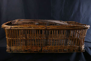 Grande Malle En Osier, Rotin, Années 1900 / Cane Trunk 1900's, Rattan F77iooel-10104120-736865055