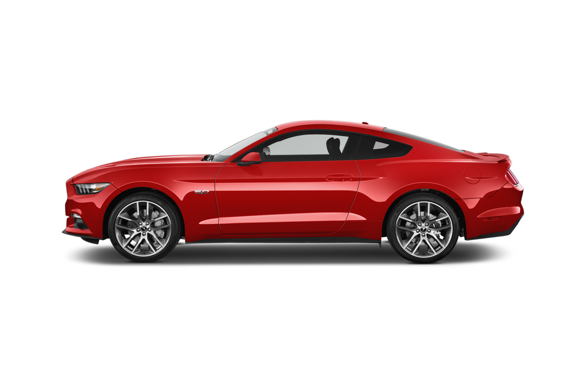 Ford Mustang GT side view