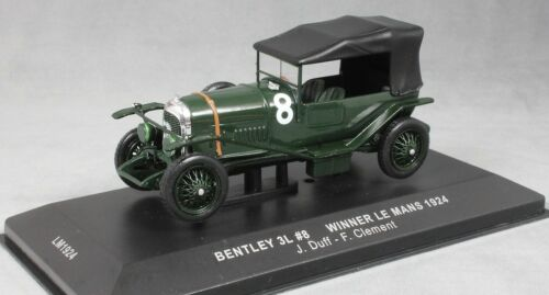 Ixo Bentley Sport 3 litros Le Mans 24 horas Win 1924 Duff /& Clement LM1924 1//43