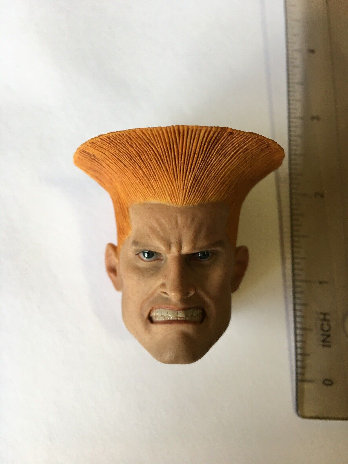 1 6 Scale ACPlay ATX044 STREET FIGHTER GUILE HEAD SCULPT Angry Face