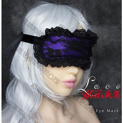 Bondage Fetish Lack Sexy Lady Blindfold, Hen Party Role Play Kit Night Wear Mask