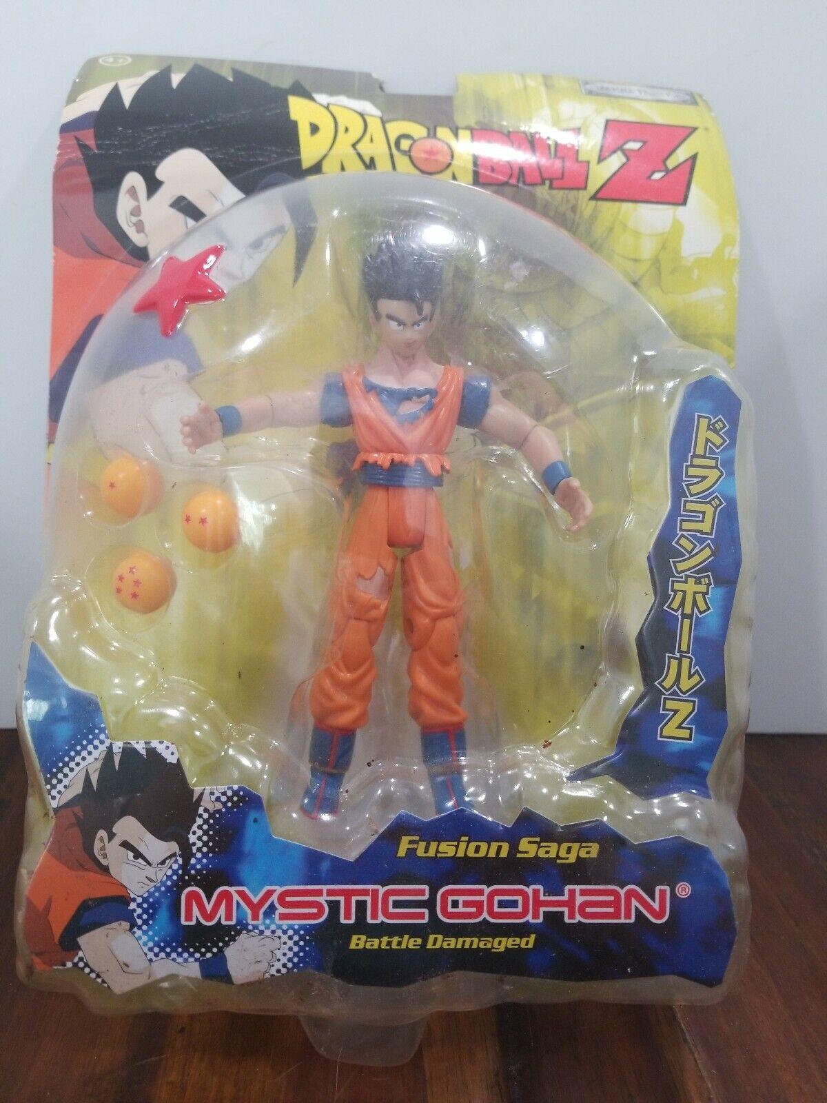 Jakks Dragon Ball Z Action Figure Fusion Saga  Battle Damaged Mystic Gohan NIP