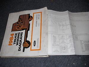 1984 ford f 600 f 800 f800 f800 cowl trucks wiring. Black Bedroom Furniture Sets. Home Design Ideas