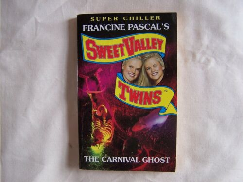 1 of 1 - Francine Pascal Sweet Valley Twins THE  CARNIVAL GHOST 1995 Paperback
