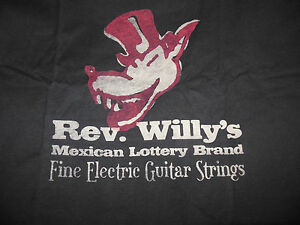 Dunlop Rev Willy's Mexicain Loterie T-shirt Taille M Neuf!!!-afficher Le Titre D'origine