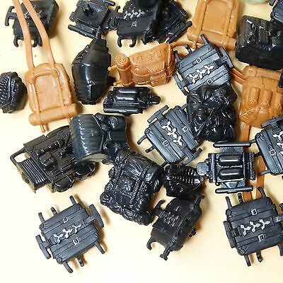"by random lot of 25 3.75/"" GI Joe Cobra figure/'s  Accessories Weapon pack bag"