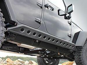 4-Door-Rock-Crawler-Side-Slider-Armor-Rocker-Guards-for-07-18-Jeep-JK-Wrangler
