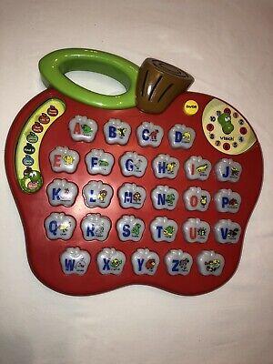 VTECH Alphabet Apple Talking Learning Toy | eBay