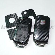 1S_Schlüssel-Dekor Aufkl. SEAT Ibiza Leon Cupra Alhambra schwarz carbon glänzend