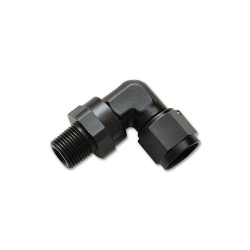 """Adapter Fitting Vibrant Performance 11381-4AN to 1//8/""""NPT Female Swivel 90 Deg"""