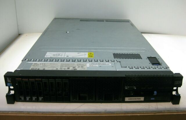 IBM System x3650 M3 2x Quad Core Xeon E5620 @ 2.4GHz, 64GB RAM, 4x 146GB HDD