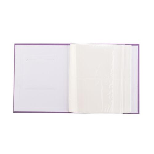 Photo album 6x4/'/'//10 x 15cm for 200 photos slip in case photo album x 2