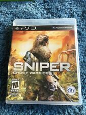 Sniper Ghost Warrior Playstation 3 Game Used