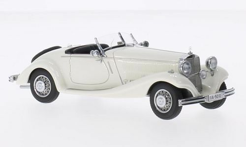 Mercedes Type 290 Roadster (W18) 1936 blanc 1 43 Model NEO SCALE MODELS