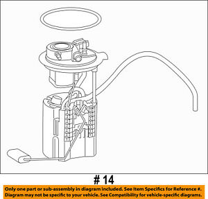 image is loading chrysler-oem-fuel-pump-68231311ab