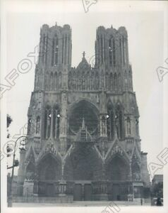 1946 Rheims France Famous Cathedral OF Medieval ...