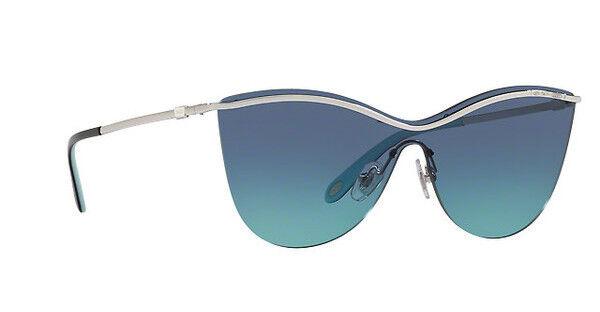 4cec3e220ca8 Tiffany   Co. Tf3058 Tf 3058 60479s Silver Fashion Shield Sunglasses 35mm  for sale online