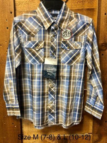 Wrangler Western Boys Snap Button Shirt