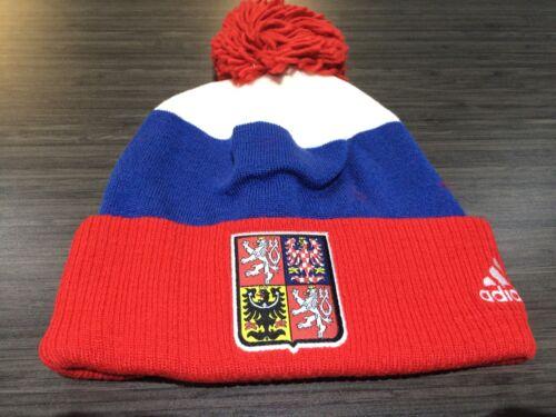 2016 World Cup of Hockey Czech Republic Pom Toque Beanie Cap Hat Winter Cuffed