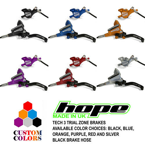 All Colors and Options Brand New Hope Tech 3 Trial Zone Brakes